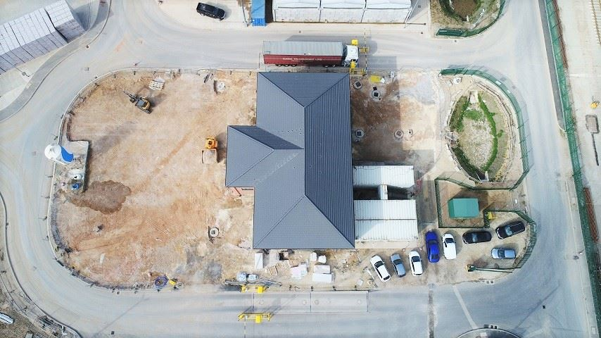 Persimmon Homes Harworth Roof Tile Factory Howard Civil Eng